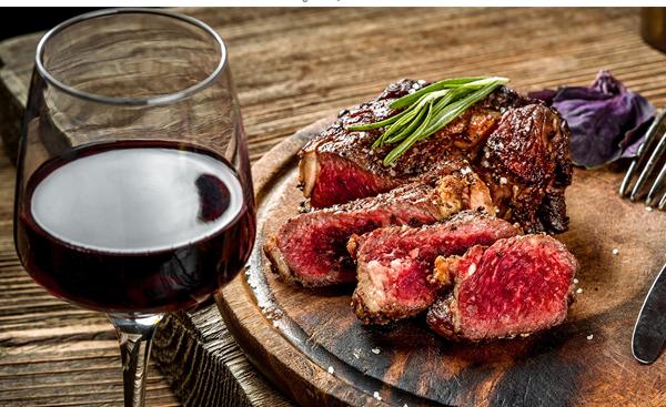 Kết quả hình ảnh cho bít tết bò rượu vang đỏ