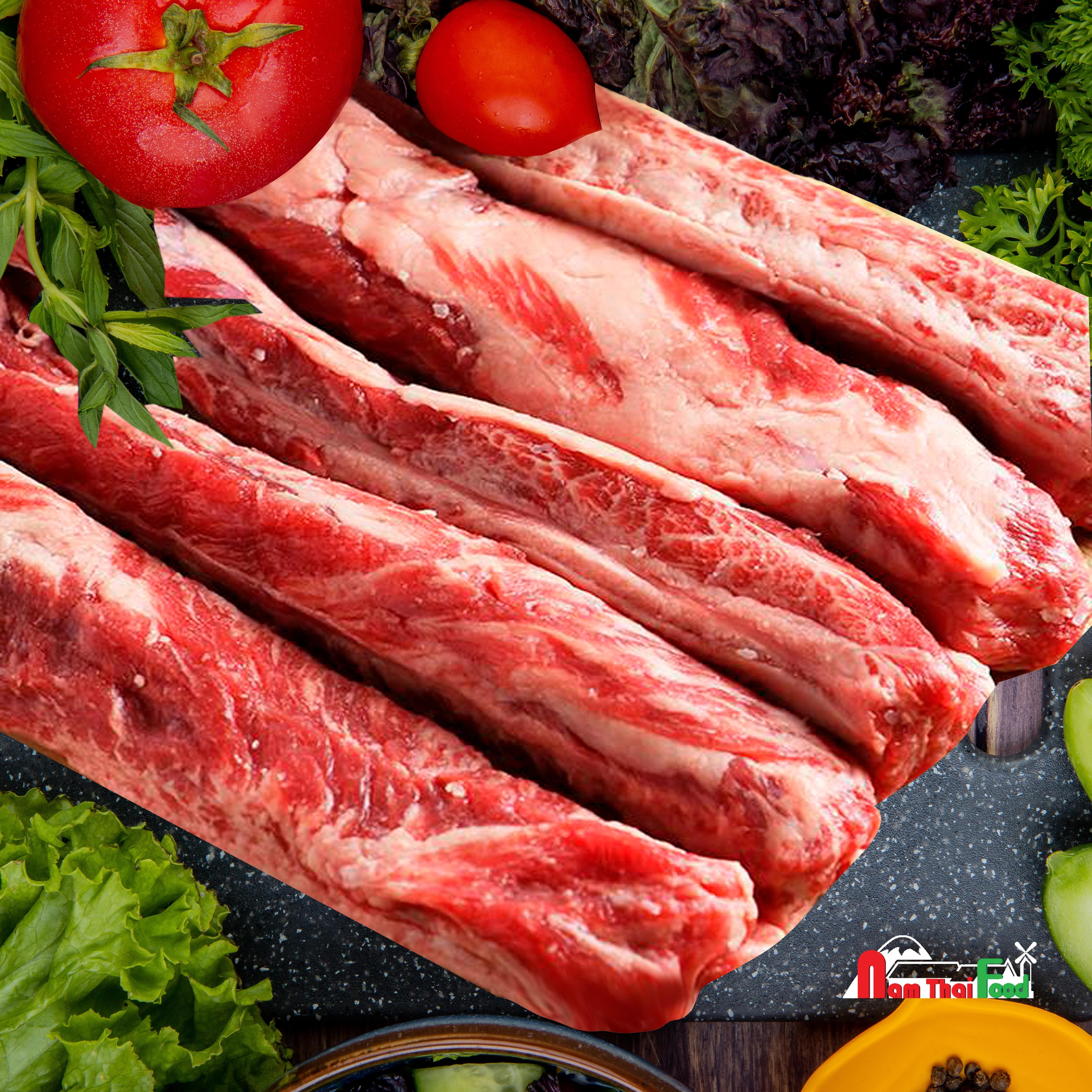Thịt dẻ sườn Canada (Rib Finger) (1kg)