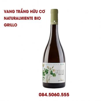 VANG TRẮNG NATURALMENTE BIO GRILLO