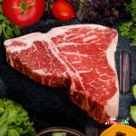Thịt sườn bò chữ T Canada  (Shortloin) (1kg)